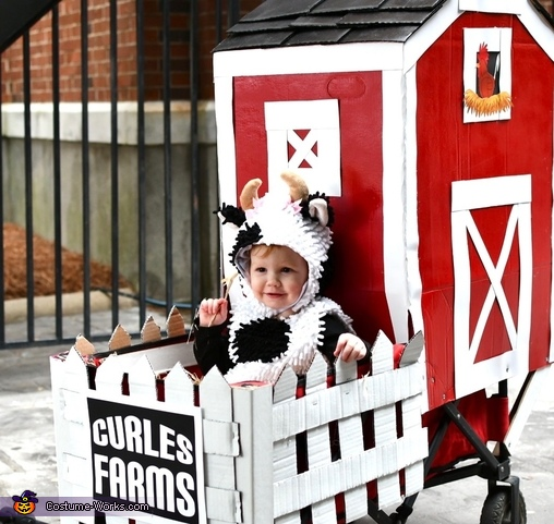 Saylor the Cow Costume