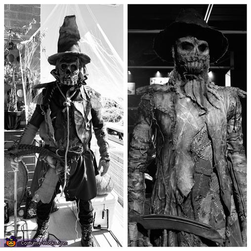 Inspiration, Scarecrow Costume