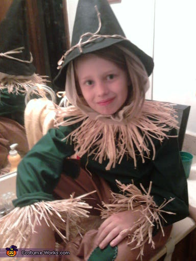 Scarecrow - Homemade costumes for boys