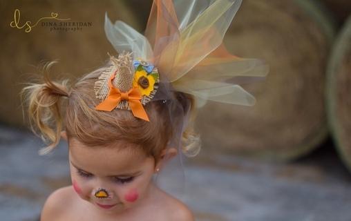 Stella Scarecrow, DIY Scarecrow Girl's Costume