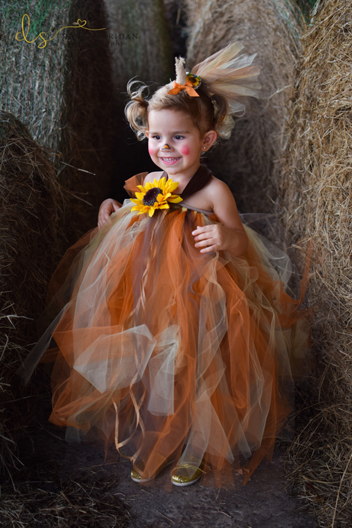 DIY Scarecrow Girl's Costume