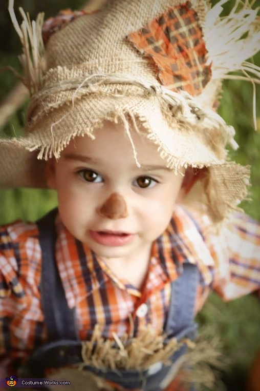 My handsome man, Cute Scarecrow Baby Costume