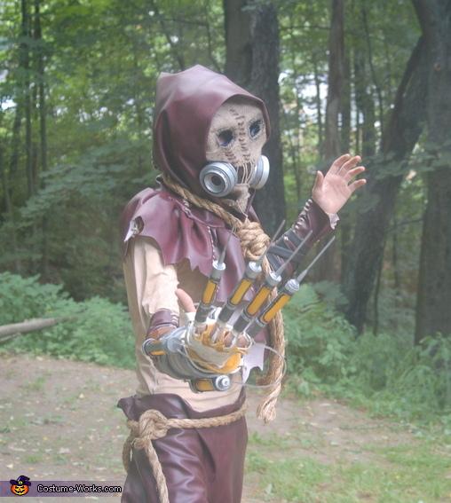 Homemade Arkham City Scarecrow Costume