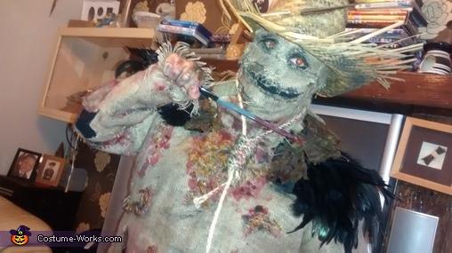on the night, Scarecrow Costume