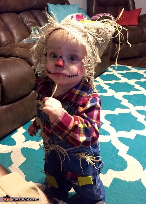 Scarecrow Baby Costume