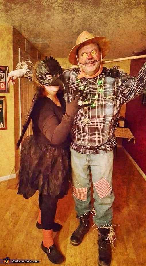 Scarecrow and Crow Costume