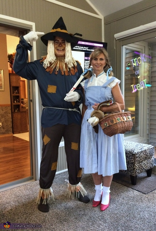 Scarecrow and Dorothy Costume