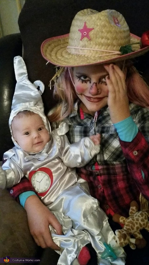 Wizard of Oz Scarecrow and Tin Man Costume