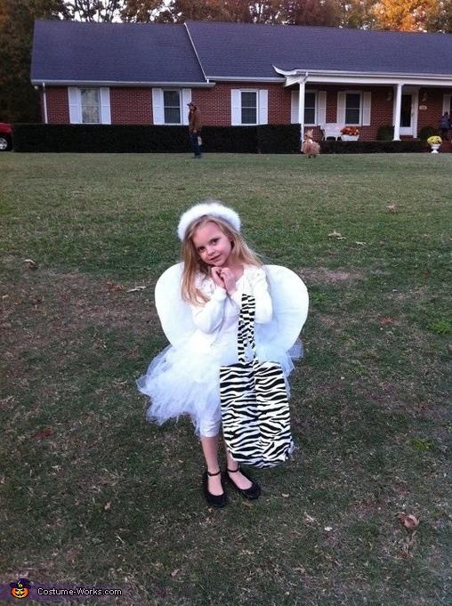 Lexi the angel, Scarecrow Baby Costume