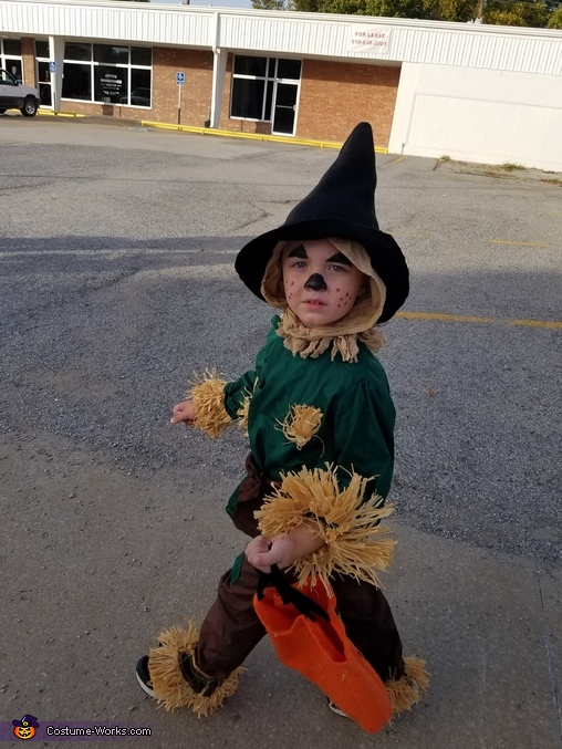 Scarecrow from Wizard of Oz Costume