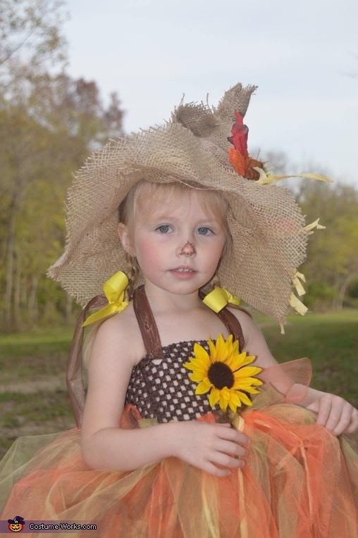 Scarecrow Girl Homemade Costume