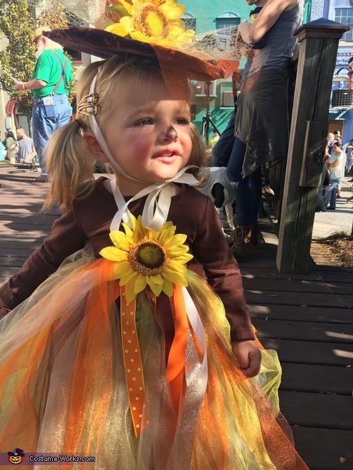 Scarecrow Princess Costume
