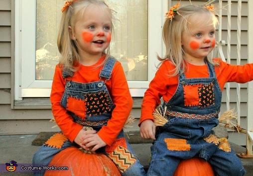 Scarecrow Twins Costume