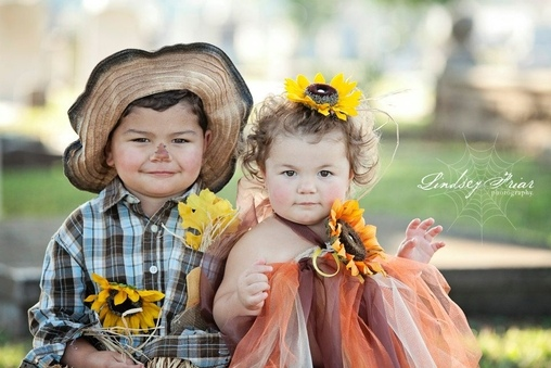 Cute Scarecrows Costume