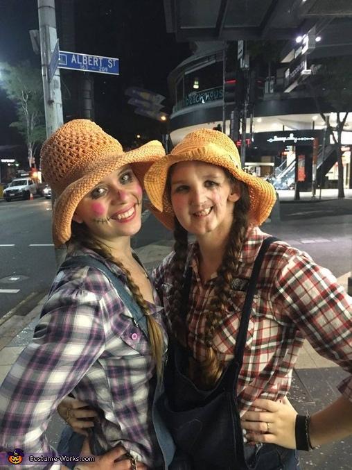 Scarecrows Homemade Costume