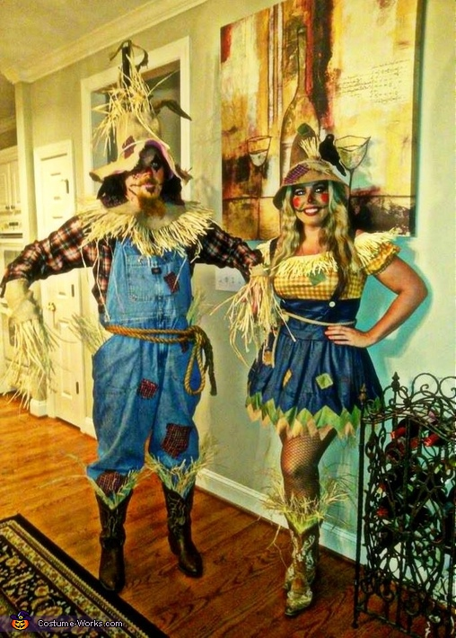Scarecrows Couple Costume