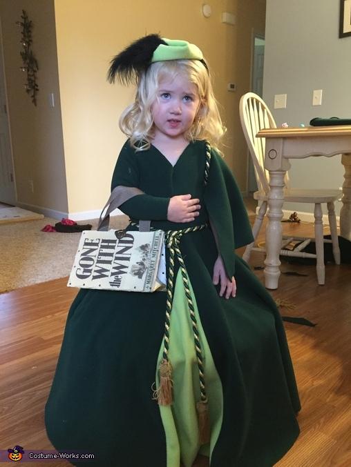 Scarlett O'Hara Homemade Costume