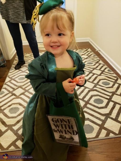 Scarlett O'Hara Drapery Dress Homemade Costume