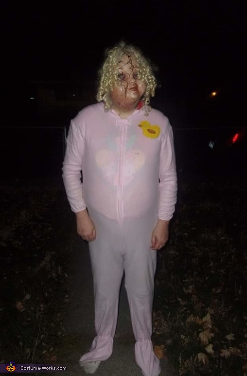 Scary Adult Baby Costume