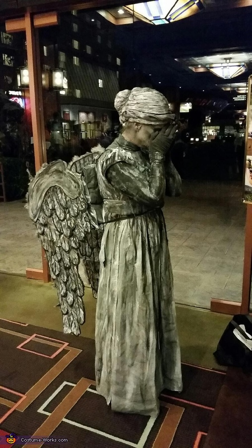 Scary Angel Statues Costume