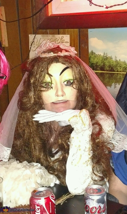 Scary Bride Homemade Costume
