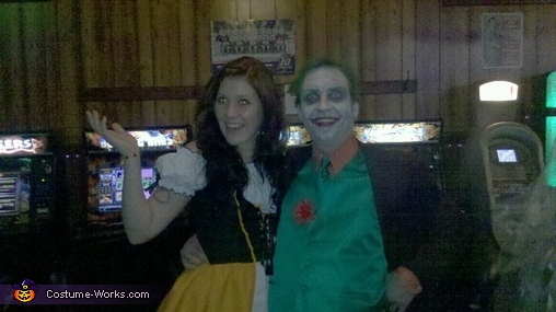 Scary Classic Joker Costume