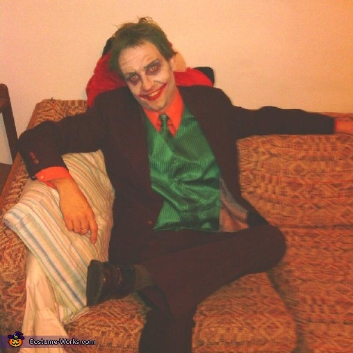 Scary Classic Joker Costume