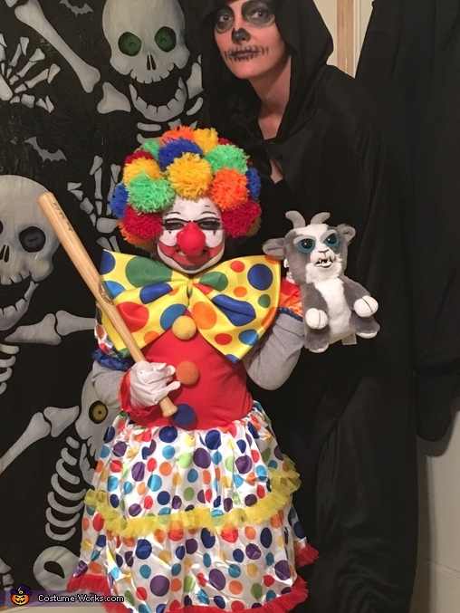 Scary Clown Costume