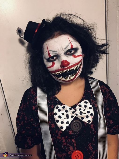 Creepy clown, Scary Clown Costume
