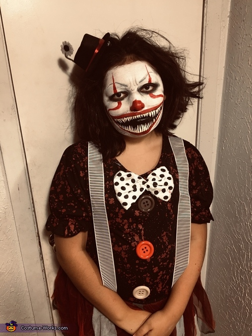 Scary Clown Costume Diy Costumes