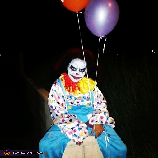 Hey There..., Scary Clown Costume