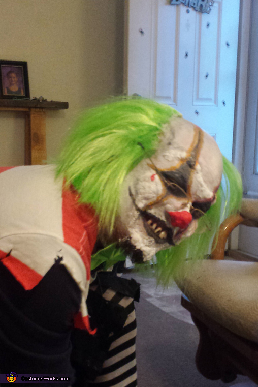 adult scary clown, Scary Clown Costume