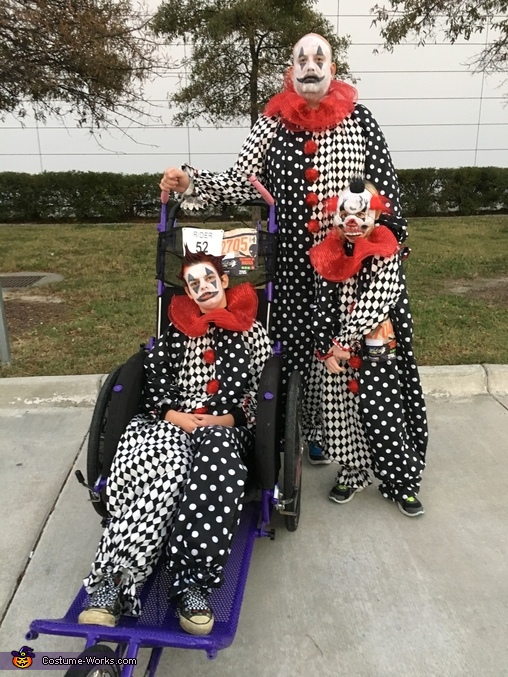 Boys, Scary Clowns Costume