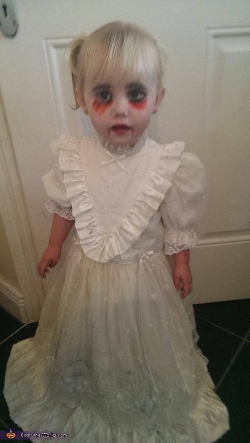 Scary Demon Child Homemade Costume