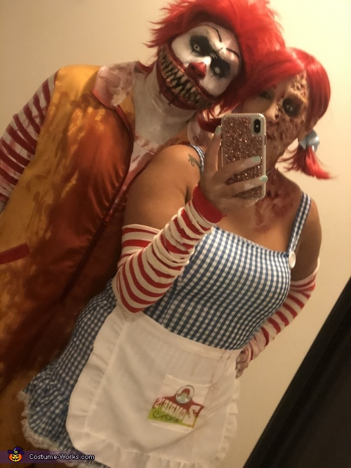 Scary Fastfood Costume