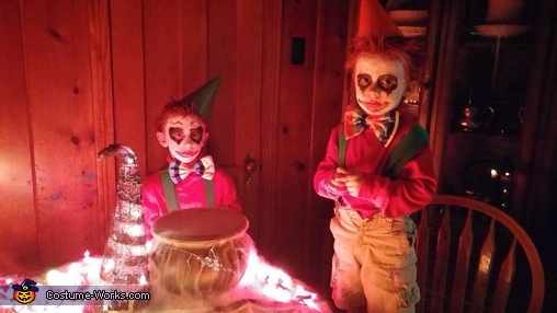 Scary Clowns, Scary Kid Clown Costume