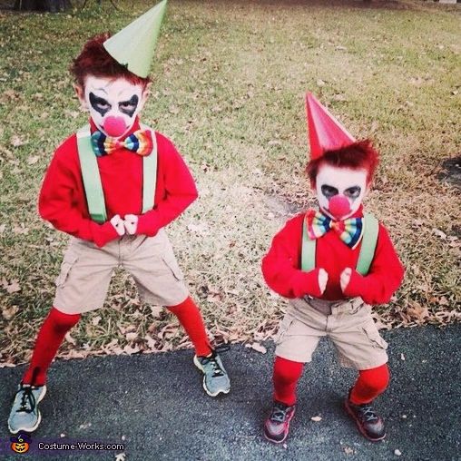 Scary Kid Clown Costume