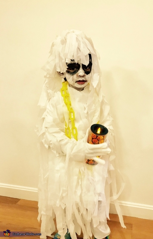 Scary Kiddo Homemade Costume
