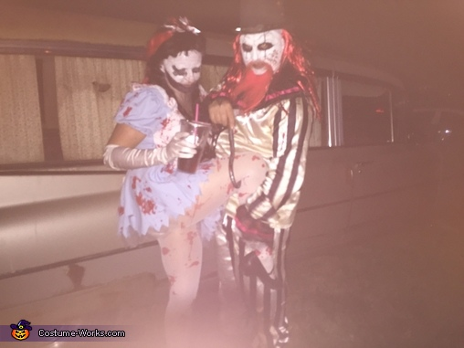 death blahahaha, Scary Killer Clowns Costume