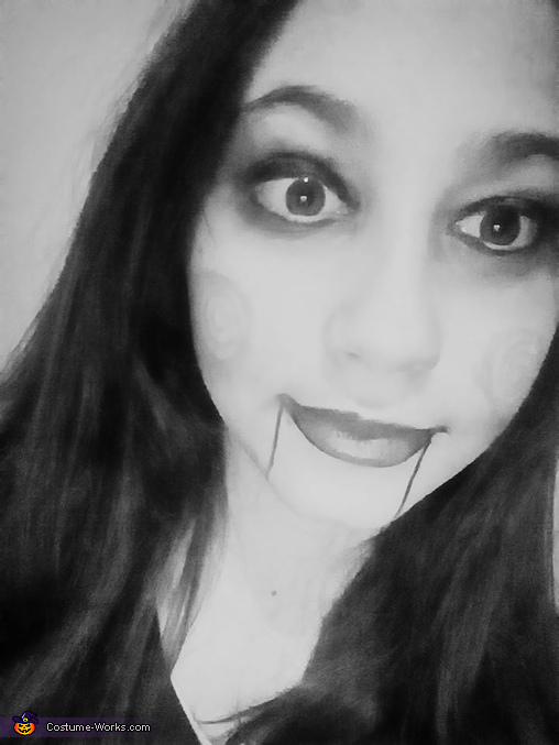Scary Makeup Homemade Costume