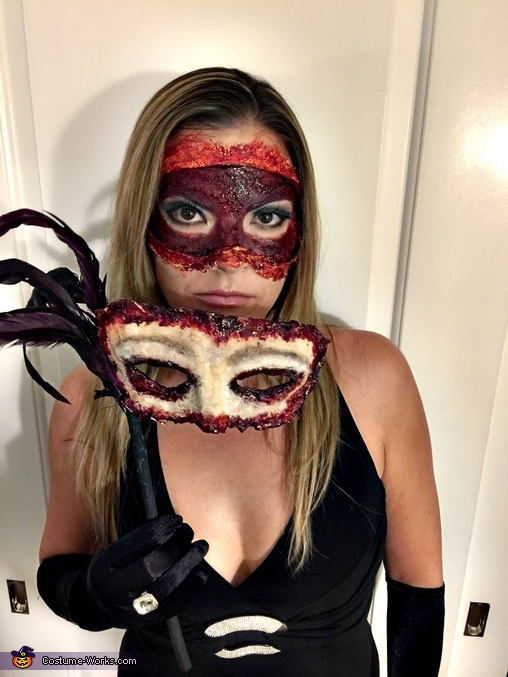 Face Off, Scary Masquerade Costume