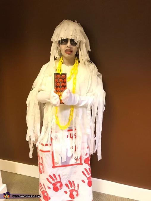 Scary Mom Homemade Costume