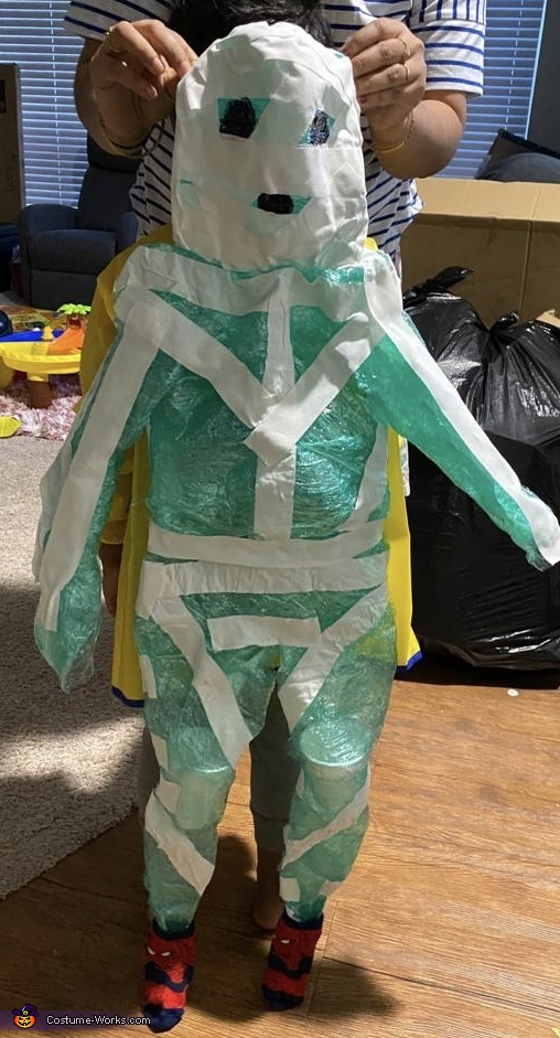 Scary Monsters Homemade Costume