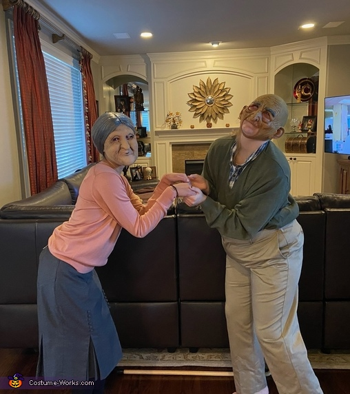 Scary Old Couple Costume