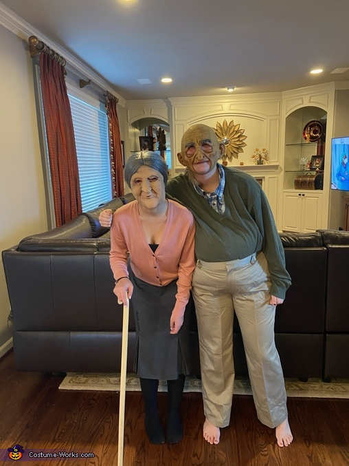 Together for eternity, Scary Old Couple Costume