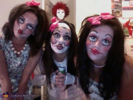Scary Porcelain Dolls Costume