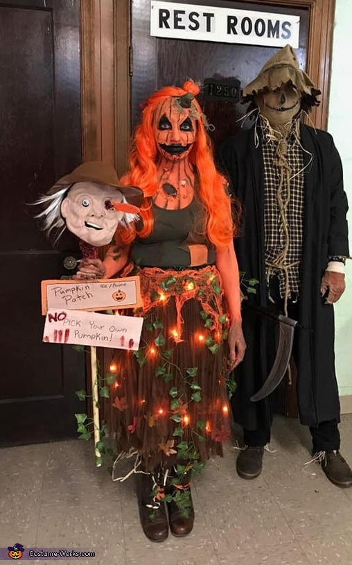 Scary Rotting Pumpkin Costume