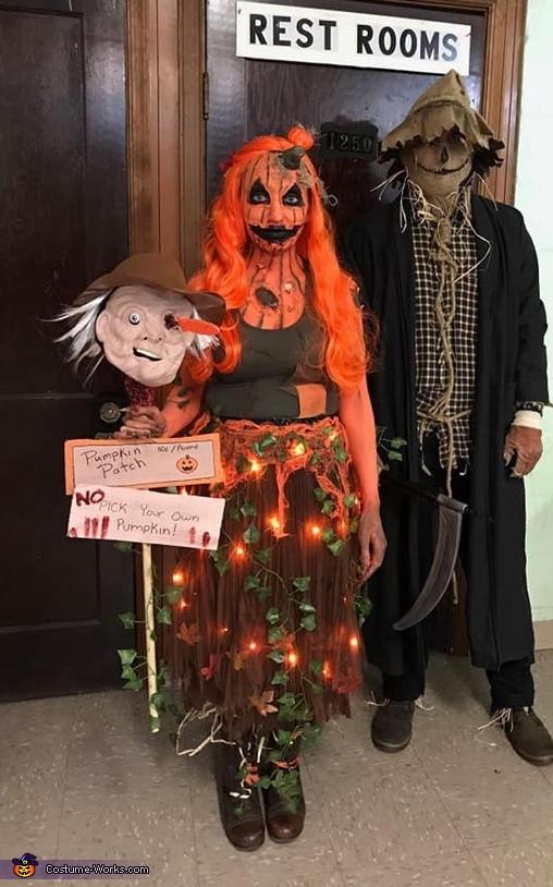 Scary Rotting Pumpkin Costume