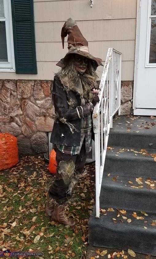 Adult Scary Scarecrow Costume Photo 2 5