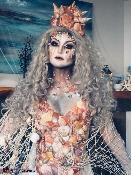 Scary Sea Queen Costume